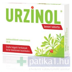 Urzinol bevont tabletta 30 db