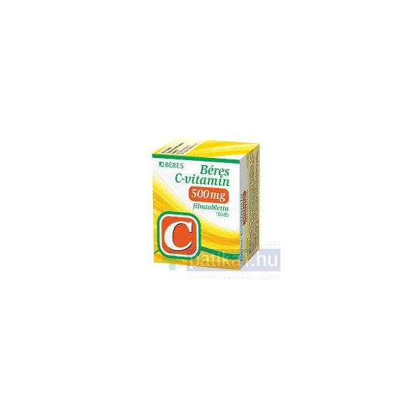 Béres C-vitamin 500 mg filmtabletta 100 db