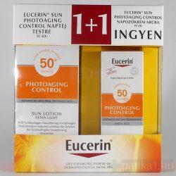 Eucerin Sun Photoaging Control csomag FF50+ (1+1 akció) 150+50 ml