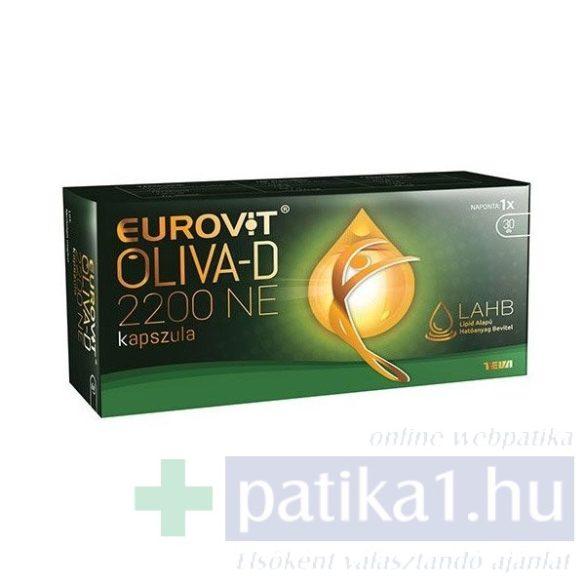 Eurovit Oliva-D 2200 NE étrendkiegészítő kapszula 30 db