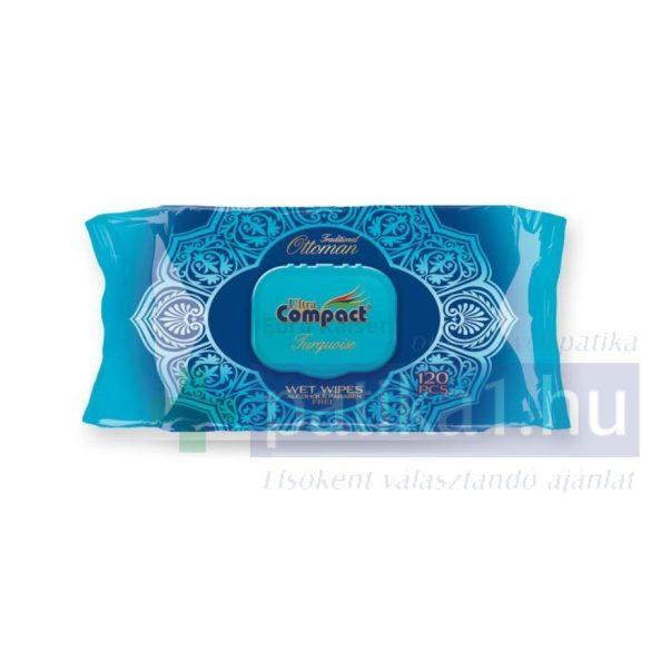 Ultra Compact Ottoman türkiz nedves törlőkendő 120 db