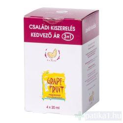 Bioextra Grapefruitmag kivonat 4x20 ml csomag