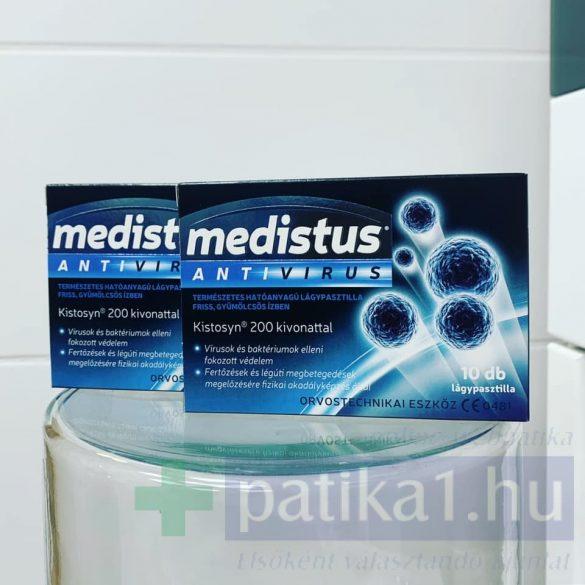 Medistus Antivirus lágypasztilla 10 db Vitaplus