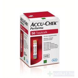 AccuCheck Performa tesztcsík 50 db