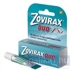 Zovirax Duo 50+10 mg/g krém 2 g