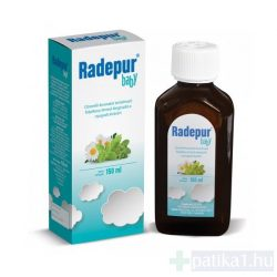 Radepur Baby citromfű étrendkiegészítő folyadék 150 ml