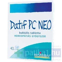Datif PC NEO bukkális tabletta 40 db