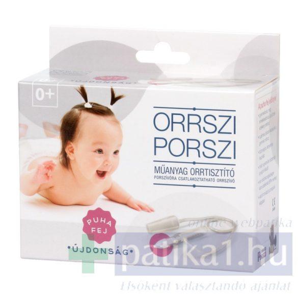 Orrszi Porszi orrtisztító műanyag puhafejű