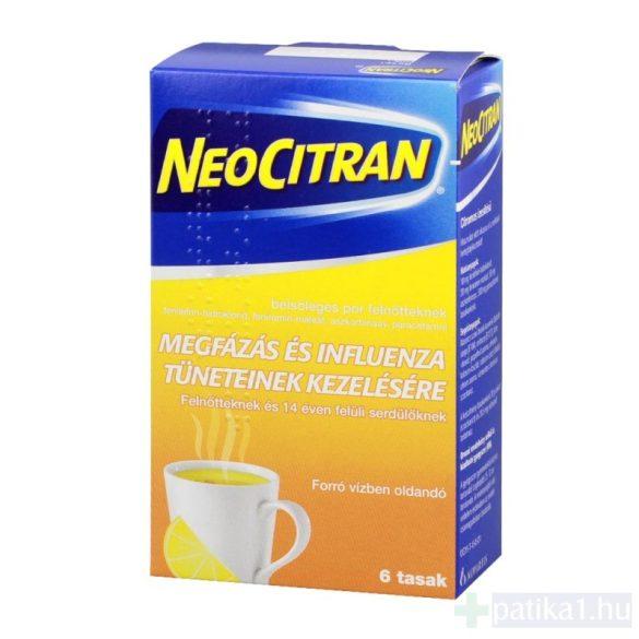 Neo Citran belsőleges por felnőtteknek 6 db