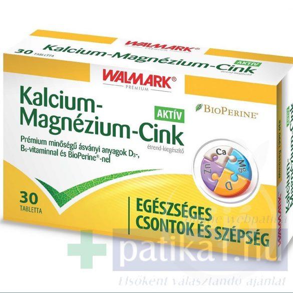 Walmark Kalcium + Magnézium + Cink aktív tabletta 30 db