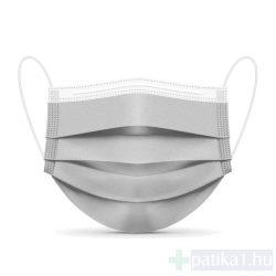 4 rétegű szürke orvosi maszk 10db/csomag