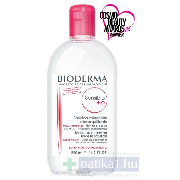 Bioderma Sensibio H2O arc-és sminklemosó 500 ml
