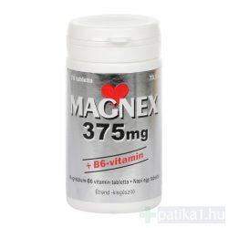 Magnex 375 mg + B6-vitamin tabletta 70 db