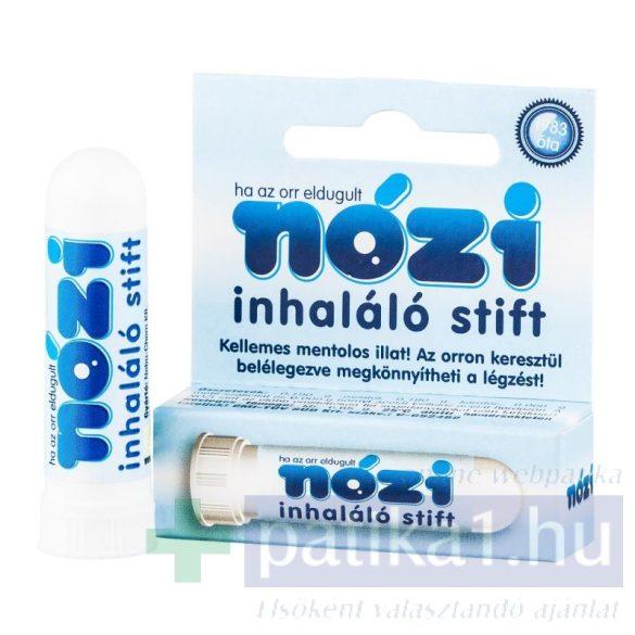 Nózi inhalációs stift