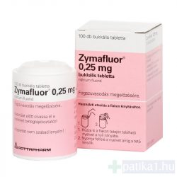 Zymafluor 0,25 mg bukkális tabletta 100 db