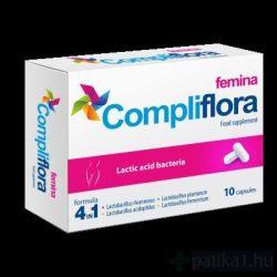 Compliflora Femina étrend-kiegészítő kapszula 10x