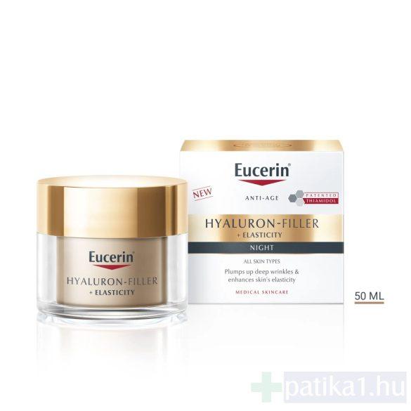 Eucerin Hyaluron-Filler + Elasticity Bőrtömörséget regeneráló éjszakai krém 50 ml