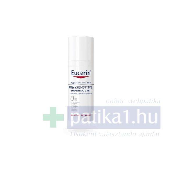Eucerin UltraSensitive arcápoló normál, vegyes bőrre 50 ml