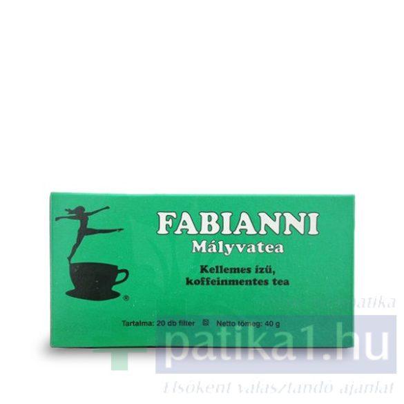 Mályva tea filteres Fabianni 20x 4 g