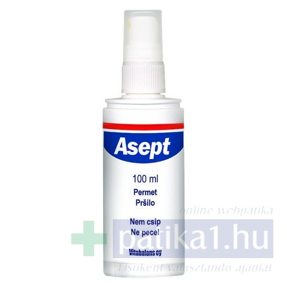 Asept oldatos spray 100 ml