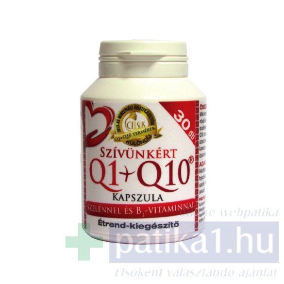 Celsus Q1+Q10 kapszula szelénnel és B1 vitaminal 30 db