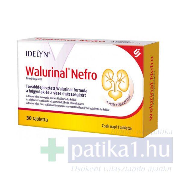Idelyn Walurinal Nefro tabletta 30 db