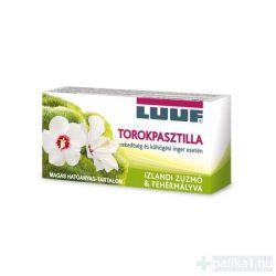 Luuf zuzmó-mályva torokpasztilla 20 db