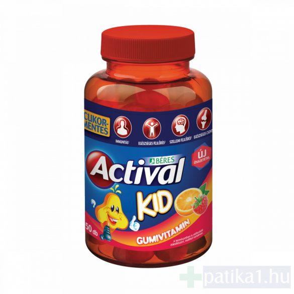 Actival Kid gumivitamin 50 db
