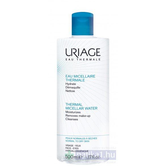 Uriage MICELLÁS ARC- ÉS SMINKLEMOSÓ TERMÁLVÍZZEL - Normál vagy száraz bőrre500 ml