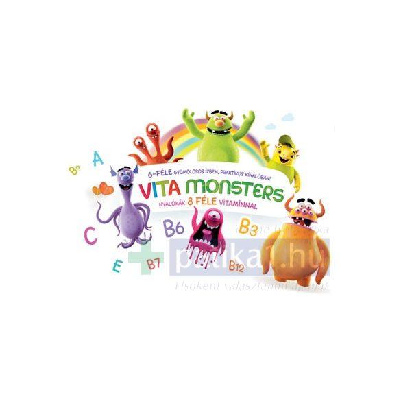 Vitamonsters multivitaminos nyalóka