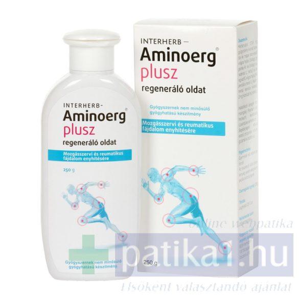 Interherb Aminoerg plusz oldat regeneráló 250 g