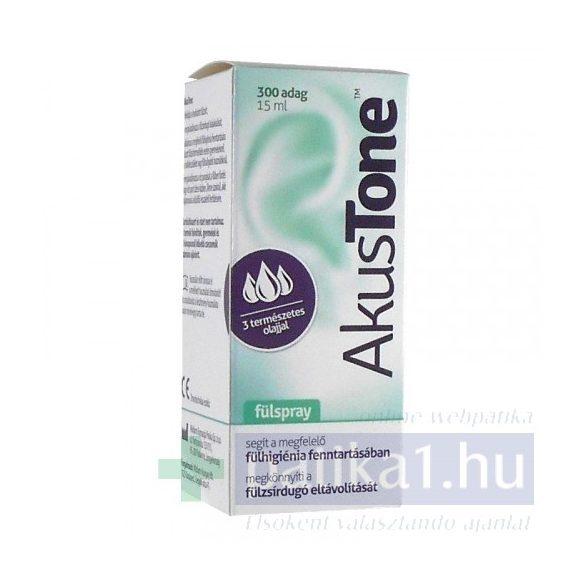 Akustone fülspray 15 ml