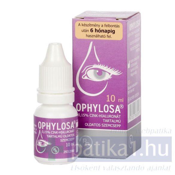Ophylosa 1,15% oldatos szemcsepp 10 ml