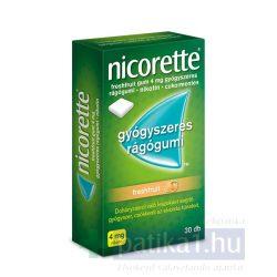 Nicorette Freshfruit gum 4 mg 30 db nikotinos rágó