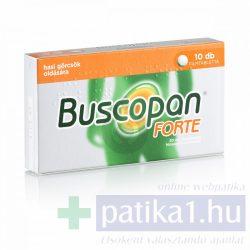 Buscopan Forte 20 mg filmtabletta 10 db