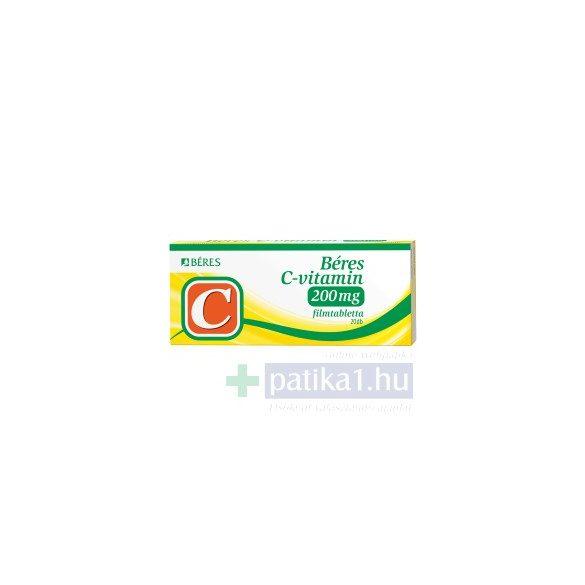 Béres C-vitamin 200 mg filmtabletta 20 db