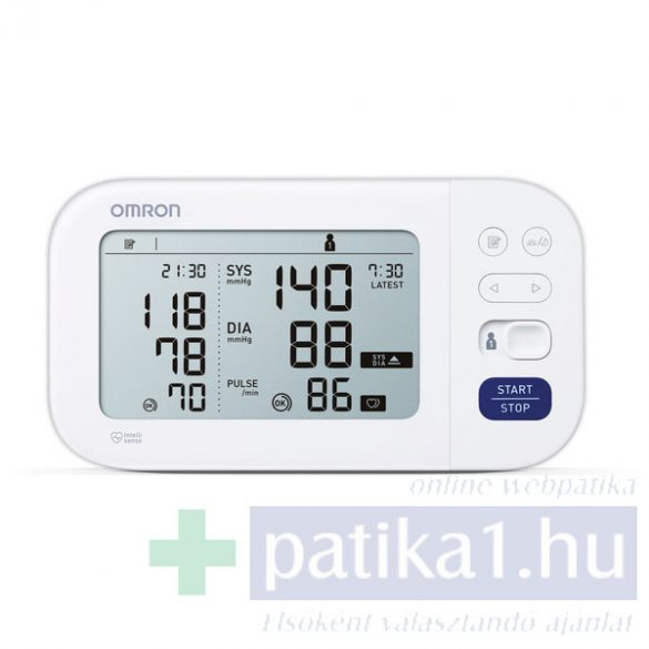 Omron M6 Comfort automata vérnyomásmérő 360 Intelli Wrap mandzsettával