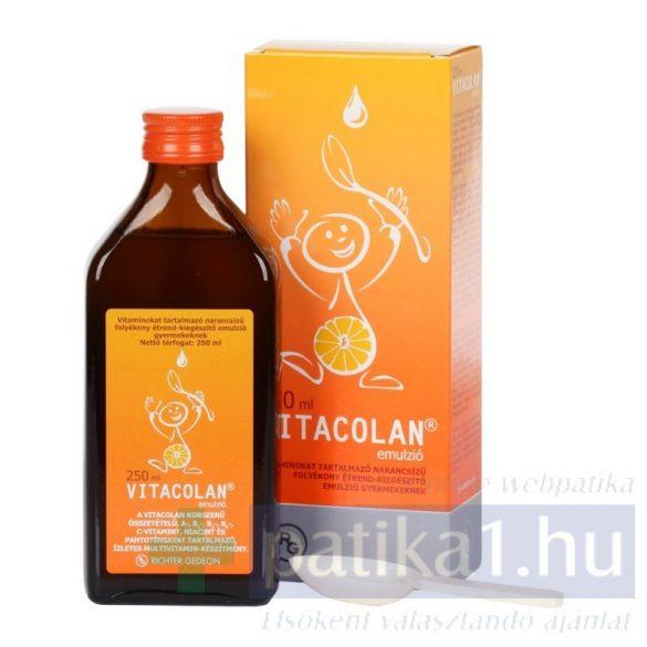 Vitacolan emulzió 250 ml