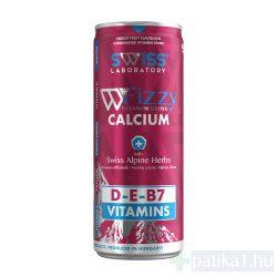SWISS Laboratory Fizzy Kalcium+D3 tartalmú vitaminital 250 ml