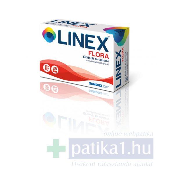 Linex Flora élőflórás étrendkiegészítő kapszula 28 db