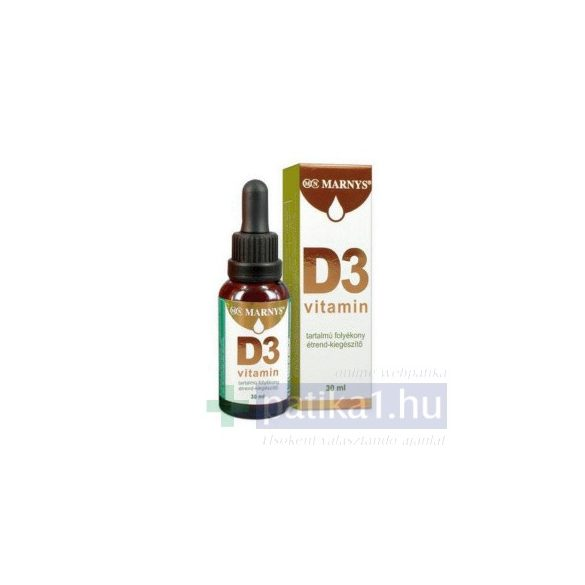 Marnys D3 vitamin cseppek 30 ml