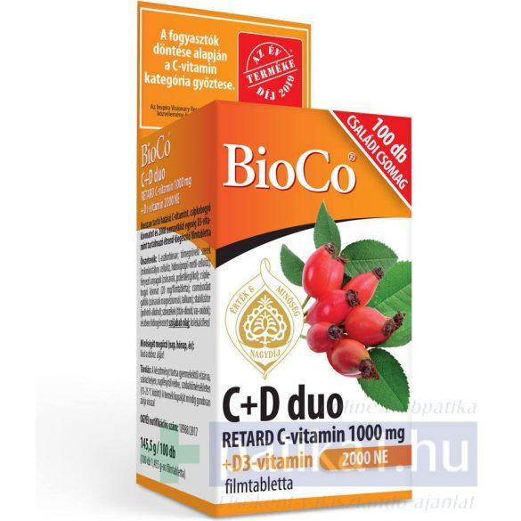 BioCo C+D Duo 2000 NE filmtabletta 100 db