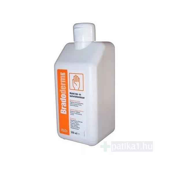 Bradoderm Soft műtéti kézfertőtlenítő 500 ml