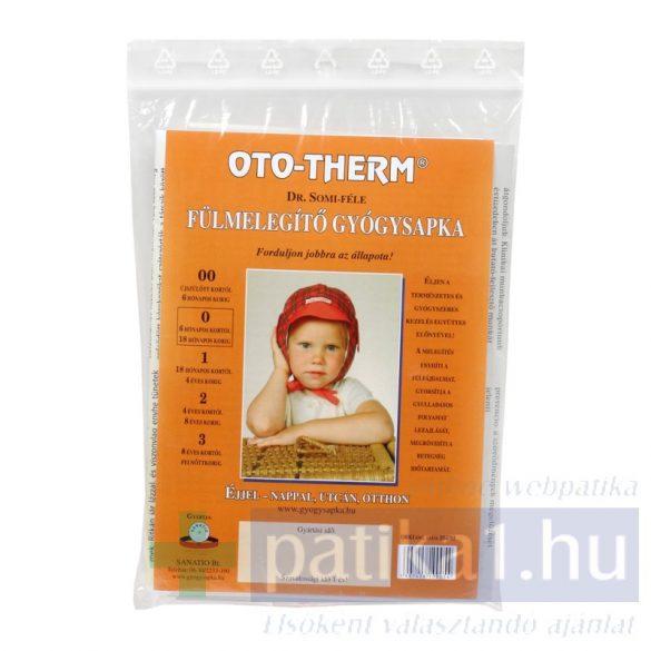 Oto-therm fülmelegítő gyógysapka + 2 db betét 6-18 hónapos korig
