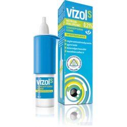 Vizol S 0,21% old. szemcsepp száraz szemre 10 ml