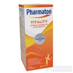 Pharmaton Vitality étrendkiegészítő tabletta 60 db