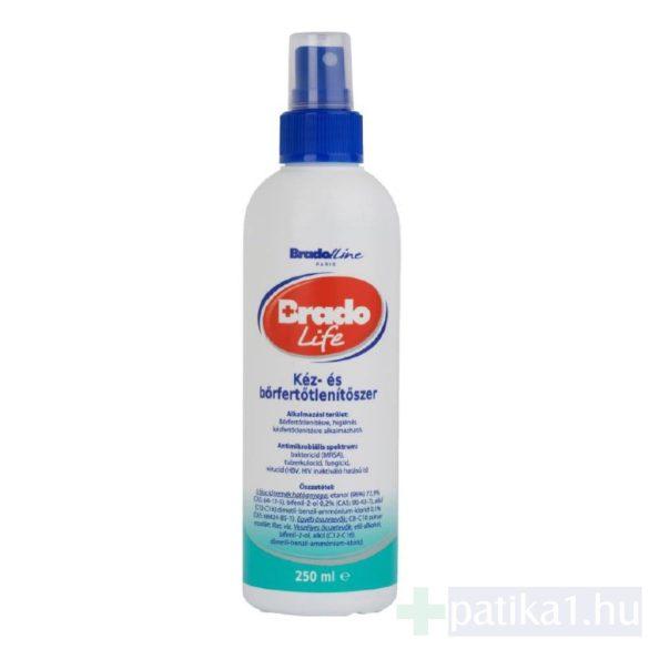 Bradolife kéz- és bőrfertőtlenítő oldat 250 ml