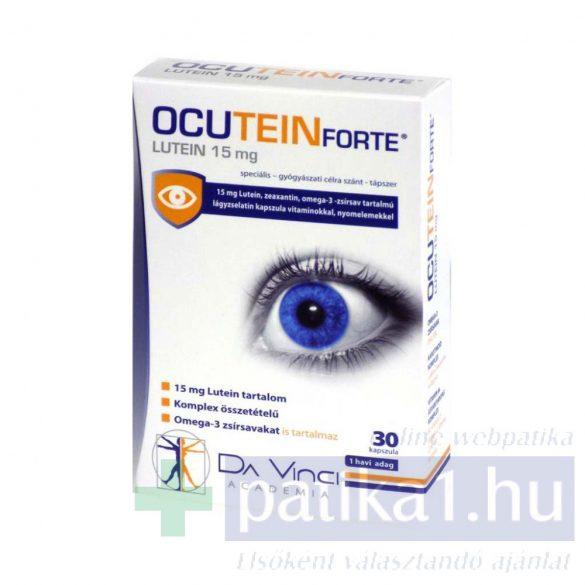Ocutein lutein 15 mg forte kapszula 30 db