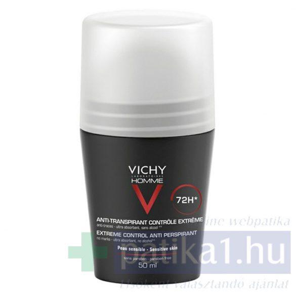 Vichy Homme deo intenzív izzadásszabályozó golyós deo 50 ml