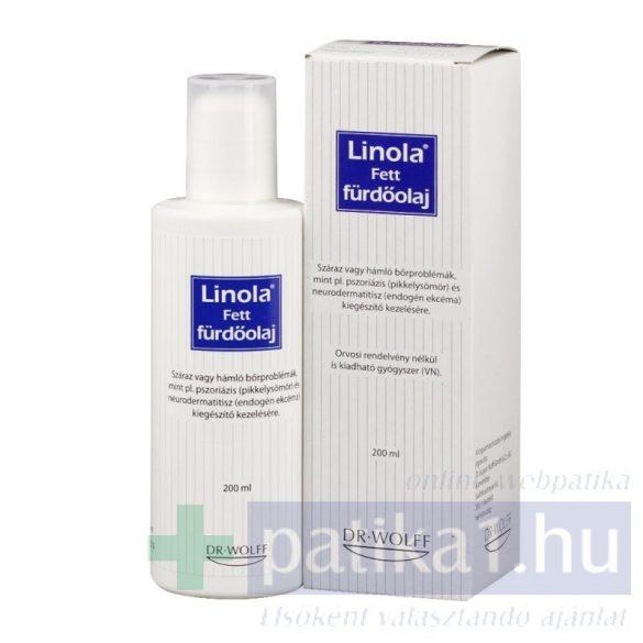 Linola Fett fürdőolaj 200 ml